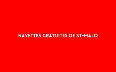 NAVETTES GRATUITES DE ST-MALO