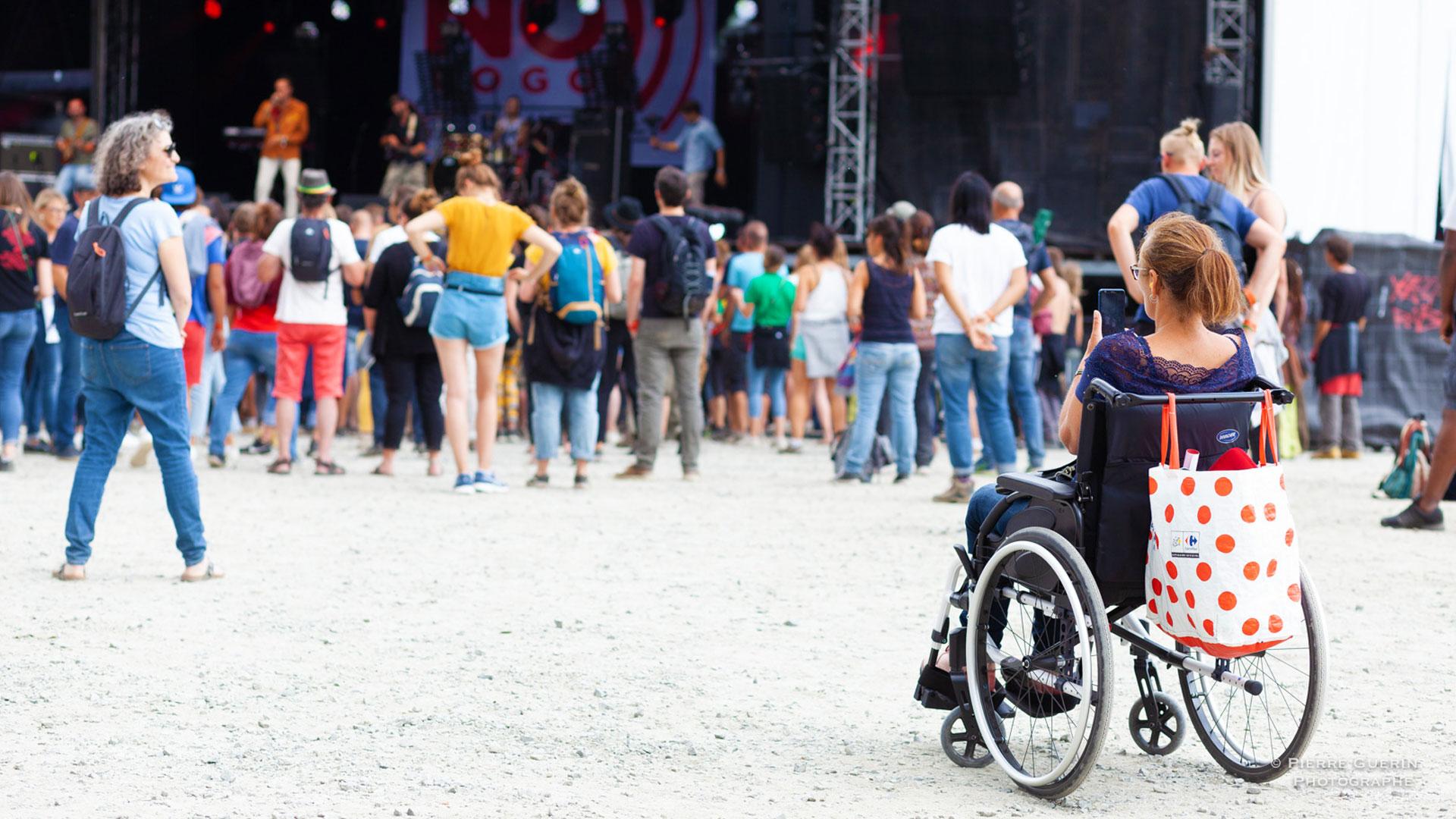 Personnes en situation de handicap au No Logo BZH